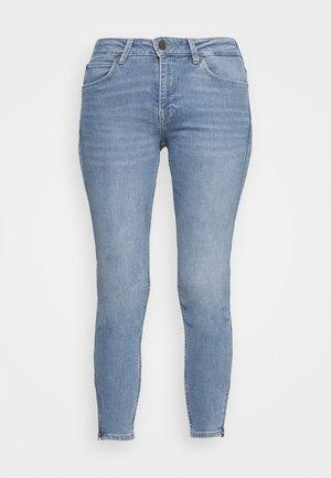 SCARLETT HIGH ZIP - Jeans Skinny Fit - light lou