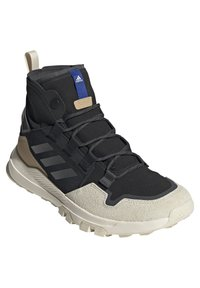 adidas Performance - TERREX HIKSTER MID - Scarpa da hiking - core black/grey six/white - 2