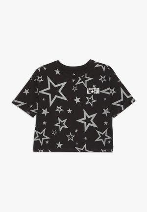 PRINTED ALL STAR BOXY TEE - T-shirts print - black