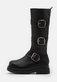 Koi Footwear - VEGAN - Platform boots - black - 0