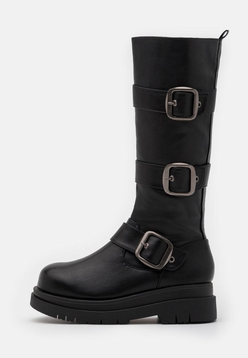 Koi Footwear - VEGAN - Platform boots - black