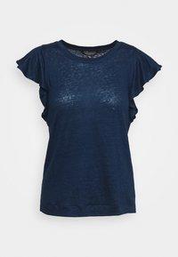 Banana Republic - FLUTTER SLEEVE - Basic T-shirt - washed indigo - 4