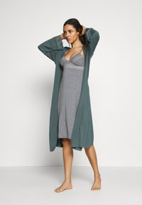 Marks & Spencer London - CHEMISE SOFT CUP - Nightie - charcoal - 1