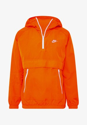 Windbreaker - magma orange/white