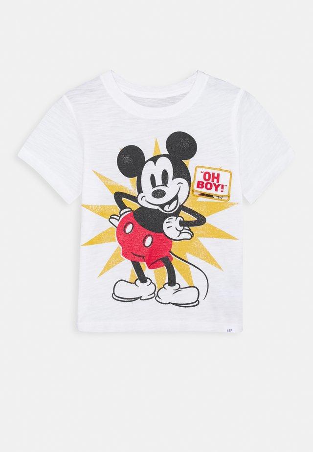 TODDLER BOY MICKEY MOUSE - T-shirt z nadrukiem - new off white