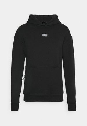 FC HOODIE - Sweat à capuche - black/clear