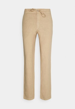 TROUSERS - Stoffhose - cookie