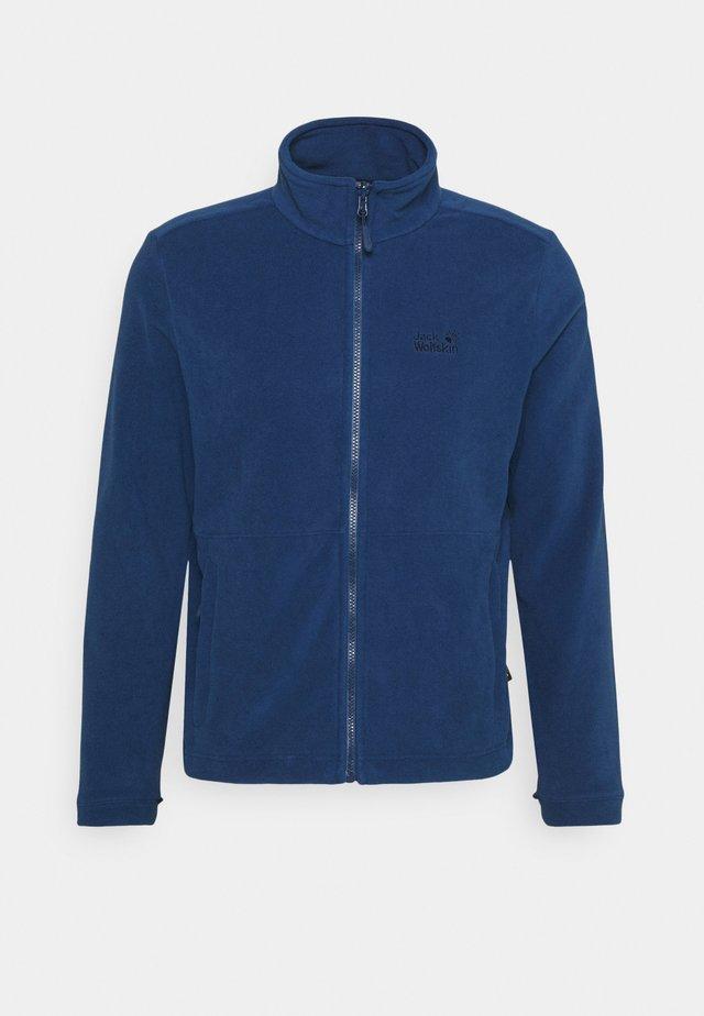 KIRUNA JACKET - Fleece jacket - dark indigo