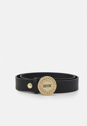 ROUND BUCKLE - Belt - nero