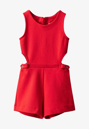 Jumpsuit - bright red