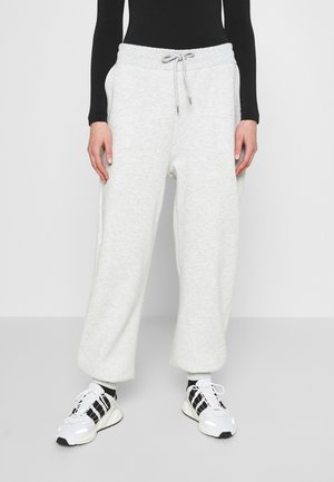 PERFECT SLOUCHY PANTS - Tracksuit bottoms - grey mélange