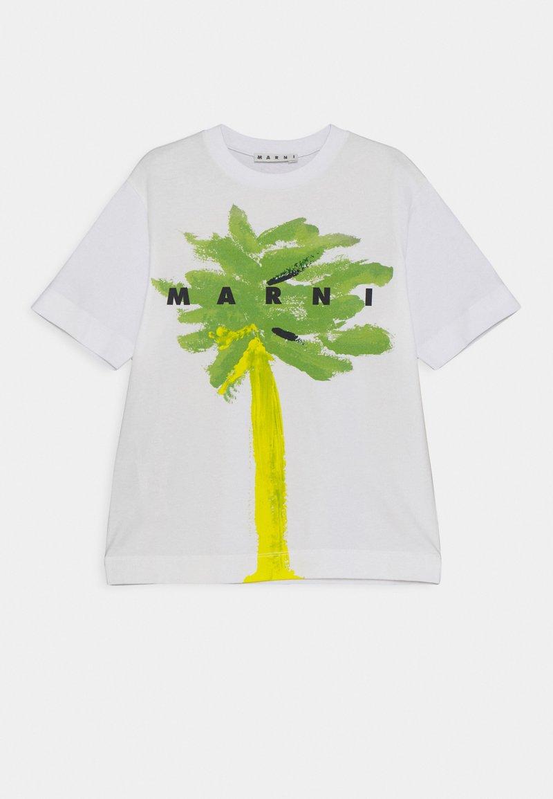 Marni - MAGLIETTA UNISEX - Print T-shirt - emerald green
