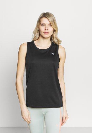 RUN FAVORITE TANK  - T-shirt de sport - black