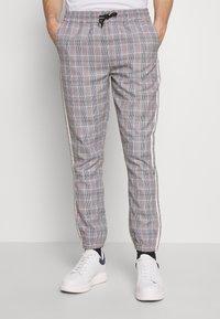 D-STRUCT - RICCO - Trousers - tartan - 0