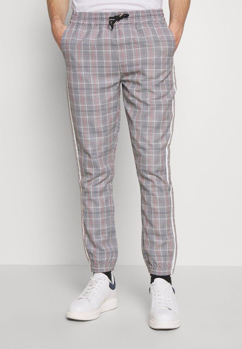 D-STRUCT - RICCO - Trousers - tartan