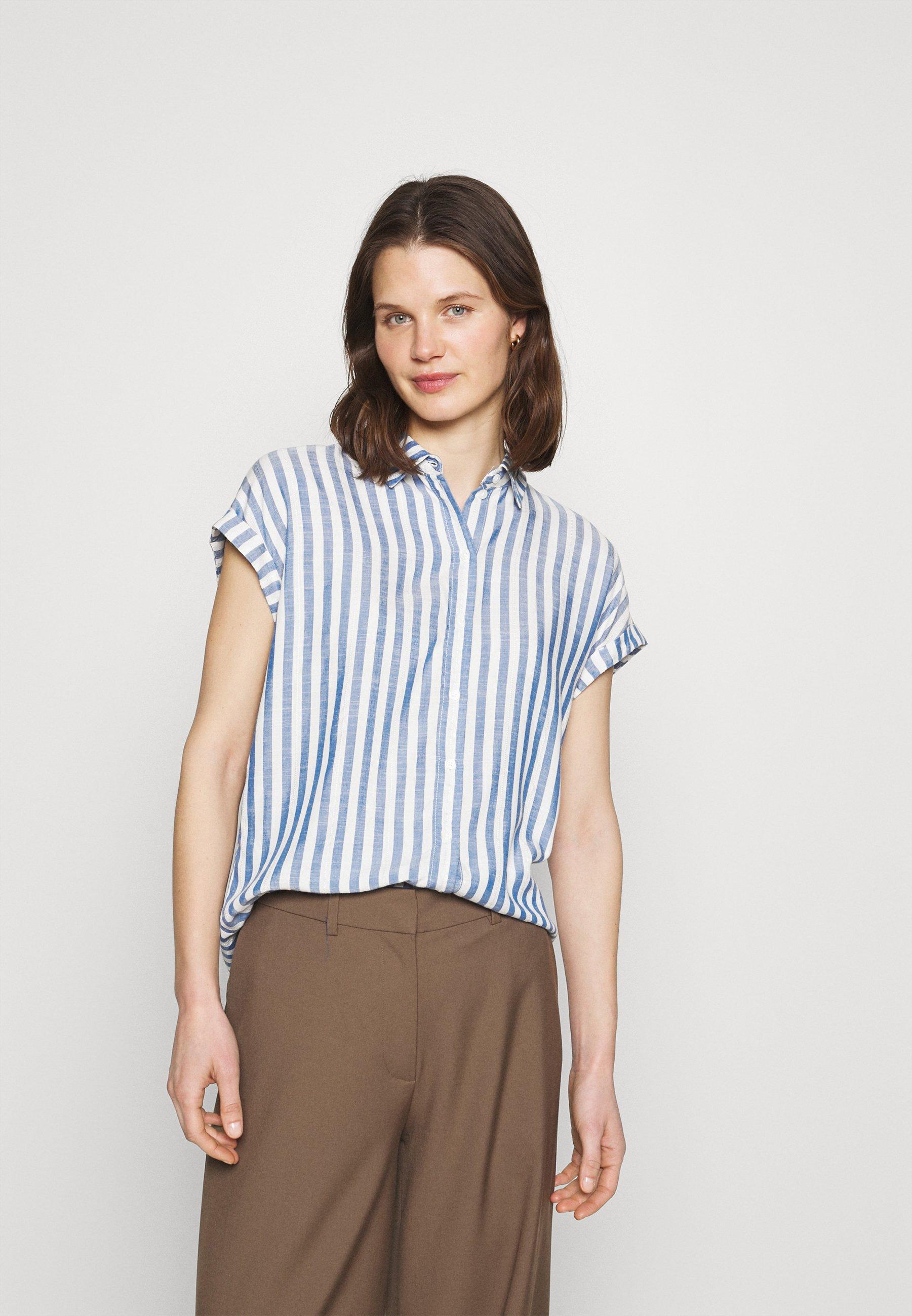 Women STRUCTURE STRIPE - Button-down blouse