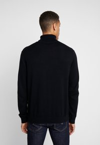 Esprit - ROLLNECK - Jumper - black - 2