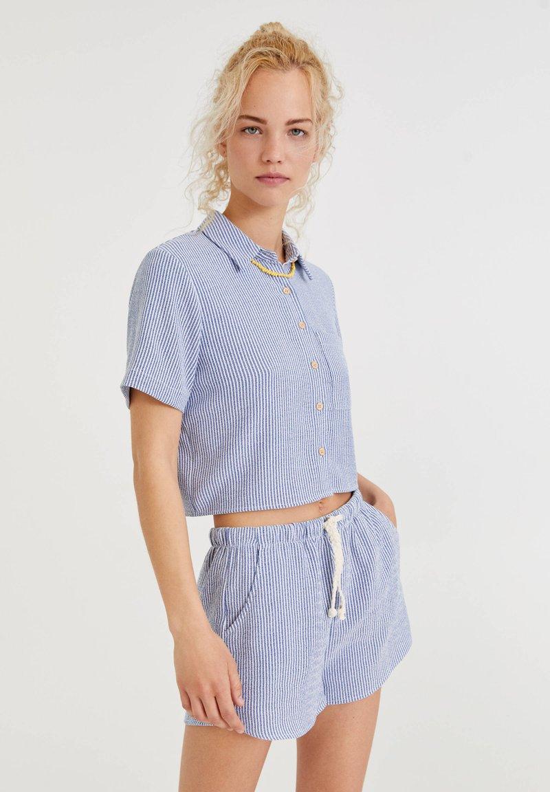 PULL&BEAR - Shorts - dark blue