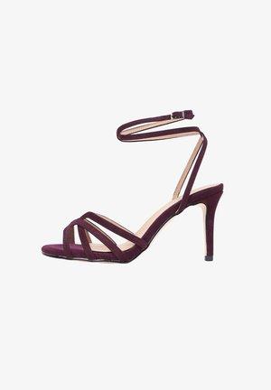 MARTINI - High heeled sandals - purple