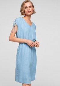s.Oliver - Denim dress - blue lagoon - 0