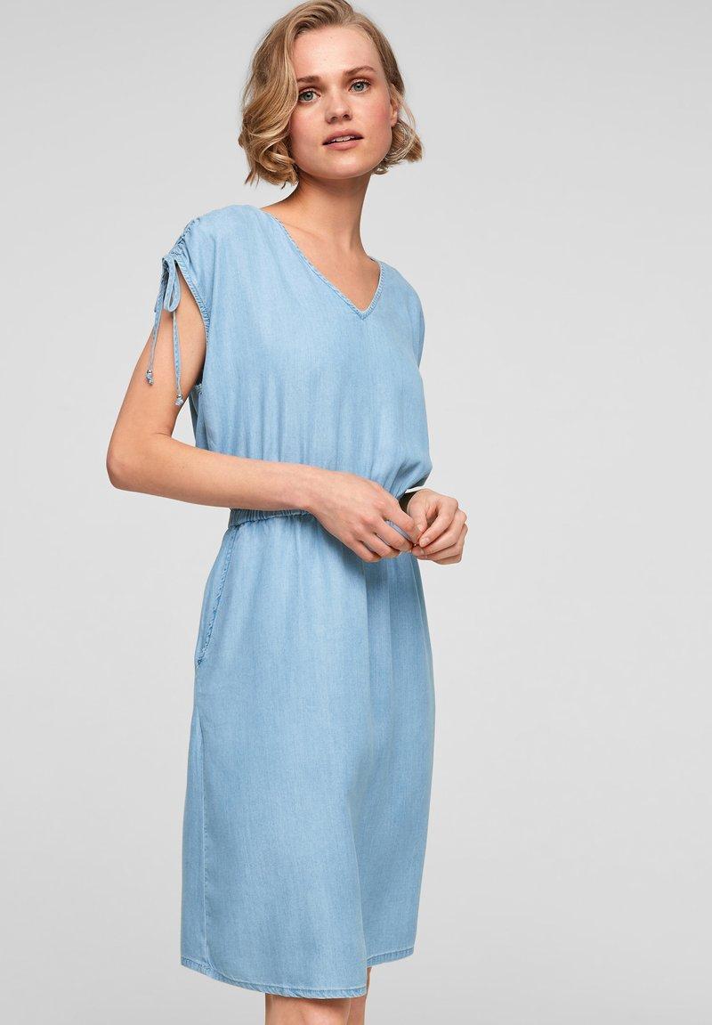 s.Oliver - Denim dress - blue lagoon