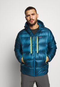 Patagonia - FITZ ROY HOODY - Down jacket - crater blue - 0