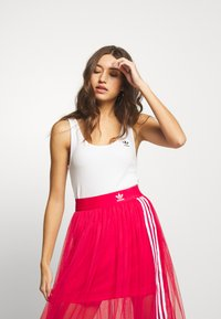 adidas Originals - ADICOLOR TREFOIL TANK - Top - white/black - 0