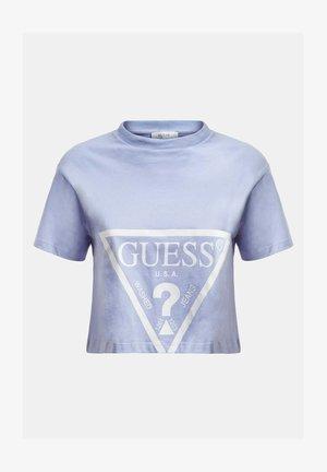 TRIANGOLARE - Print T-shirt - bleu ciel