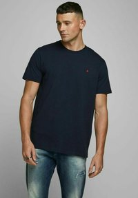 Royal Denim Division by Jack & Jones - JJ-RDD CREW NECK - T-shirt basic - navy blazer 2 - 0