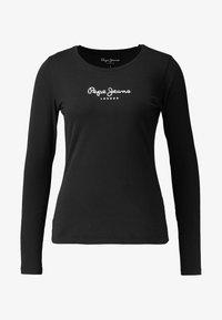 Pepe Jeans - NEW VIRGINIA  - Topper langermet - black - 4