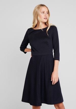 DRESS - Strikket kjole - navy