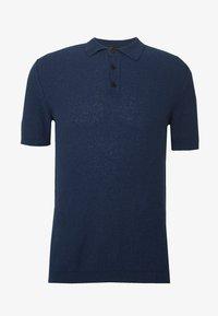 Roberto Collina - Polo shirt - navy - 4
