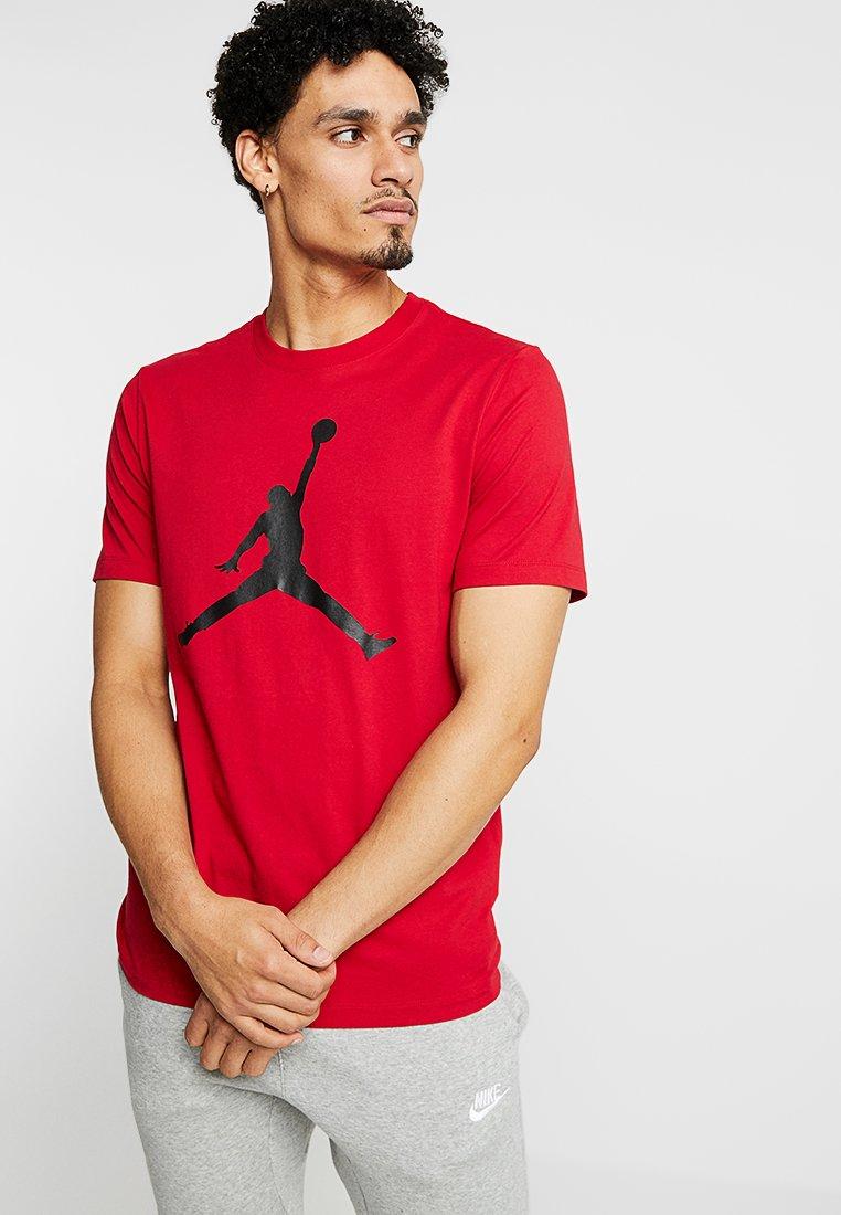 Jordan - Triko spotiskem - gym red/black