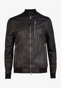 AllSaints - KINO  - Leather jacket - black - 3
