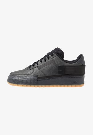 AF1-TYPE  - Matalavartiset tennarit - black/anthracite/light brown
