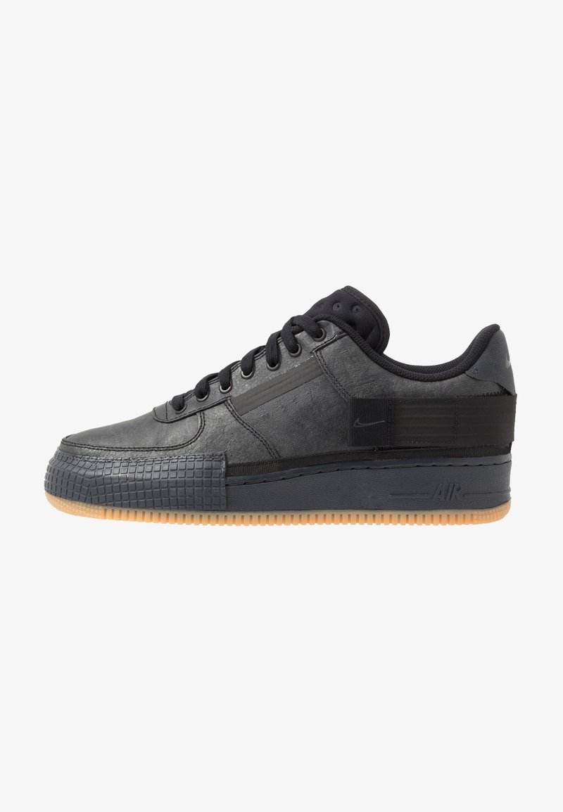 Nike Sportswear - AF1-TYPE  - Trainers - black/anthracite/light brown
