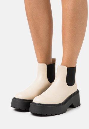 ELLIS - Ankle boots - cream