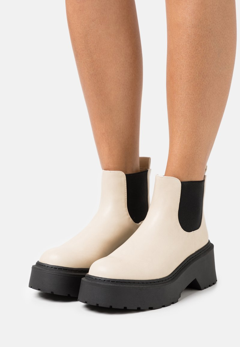 4th & Reckless - ELLIS - Ankle boots - cream