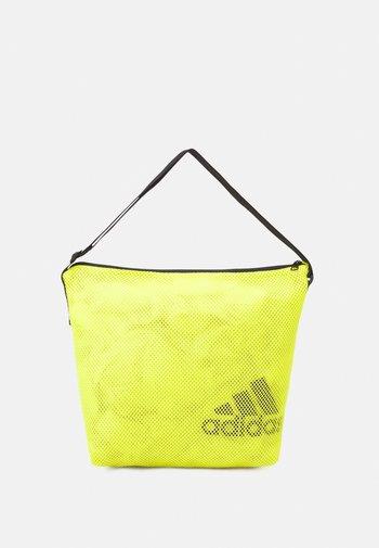 EASY SHOP - Bolsa de deporte - acid yellow/black