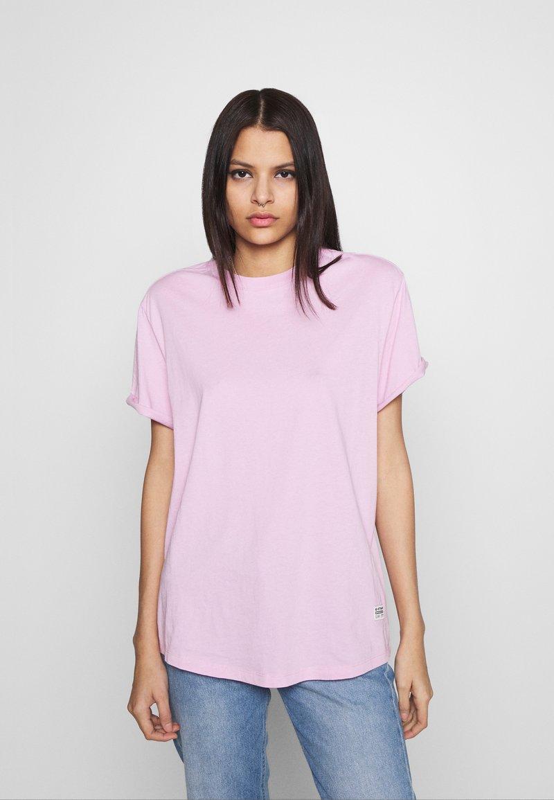 G-Star - LASH FEM LOOSE - Basic T-shirt - lavender pink