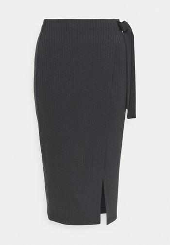 Pencil skirt - dark grey