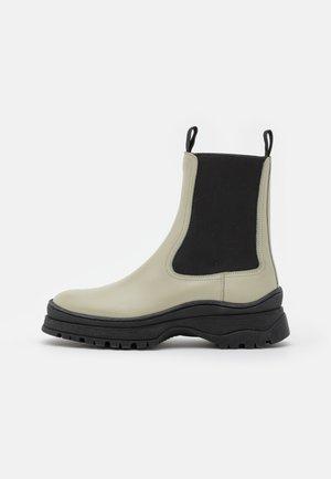 CHELSEAS - Platform ankle boots - sage