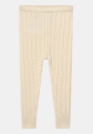 CABLE UNISEX - Legíny - ivory frost