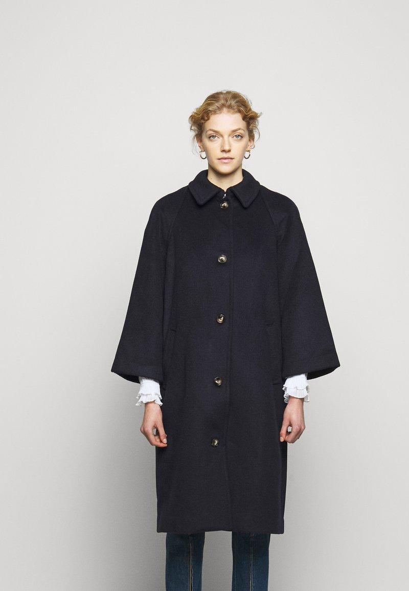 Bruuns Bazaar - JASMINA BOLETT COAT - Classic coat - night sky
