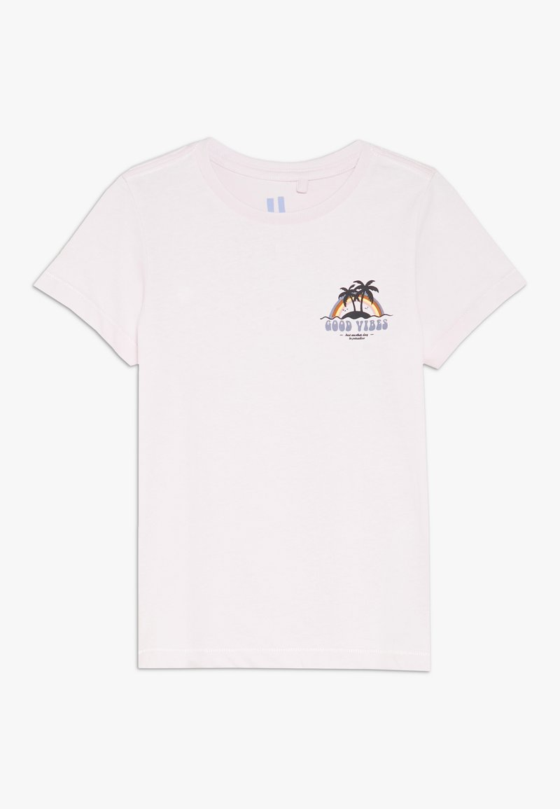 Cotton On - SLEEVE TEE - T-shirt con stampa - lavender fog