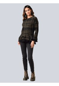 Alba Moda - Sweatshirt - schwarz,camel - 1