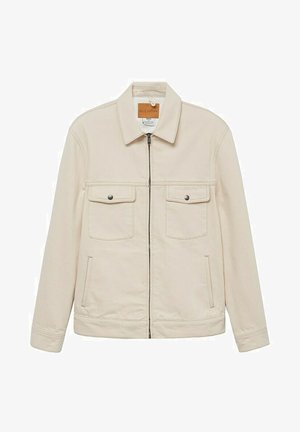 RYABOL - Džínová bunda - beige