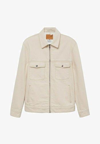 RYABOL - Giacca di jeans - beige