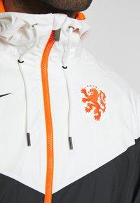 Nike Performance - NIEDERLANDE KNVB - National team wear - black/sail - 6