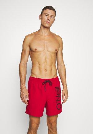 ORIGINAL CALI - Short de bain - haute red